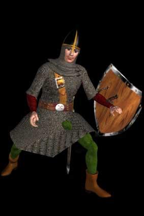 Воин-нормандец 1066 года